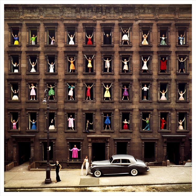 "Ormond Gigli ""Girls in the Windows, 1960"""