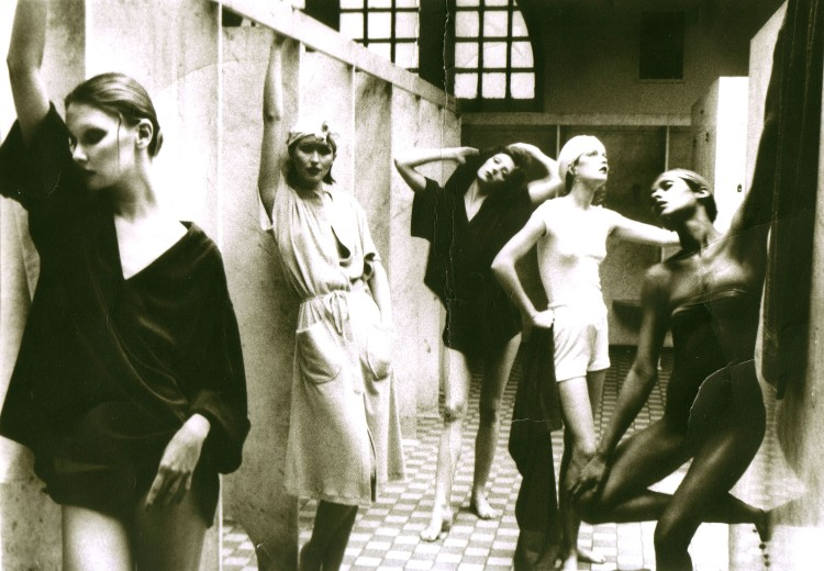 "Deborah Turbeville ""Bathhouse, Vogue, New York, 1975"""