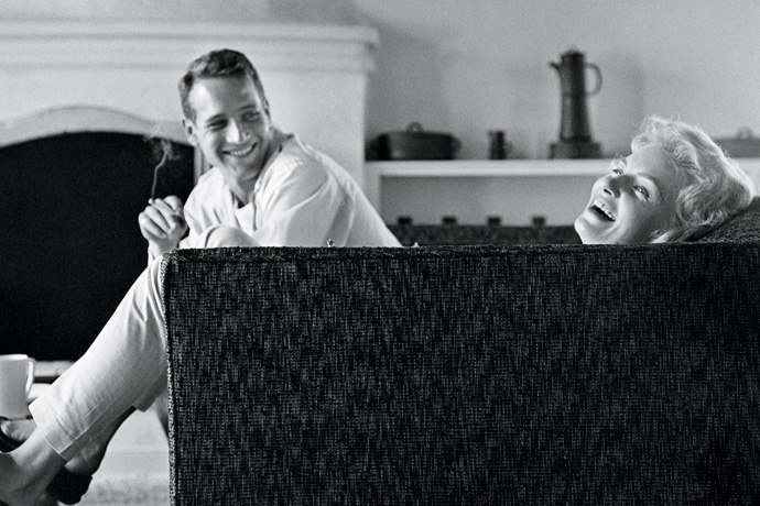 "Sid Avery ""Domestic Bliss: Paul Newman and Joanne Woodward, 1958"""