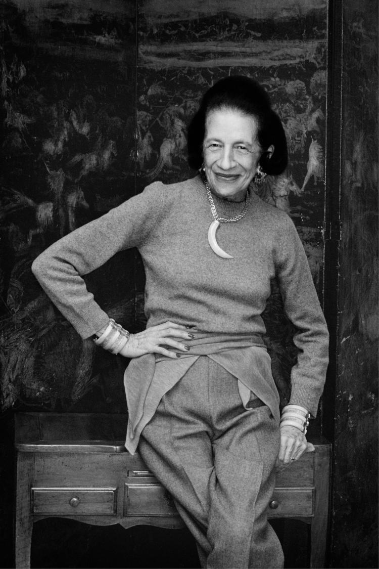 "Priscilla Rattazzi ""Diana Vreeland, New York, 1982"""
