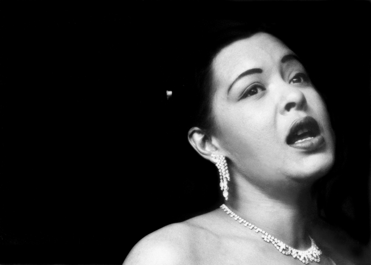 "Bob Willoughby ""Billie Holiday, 1952"""